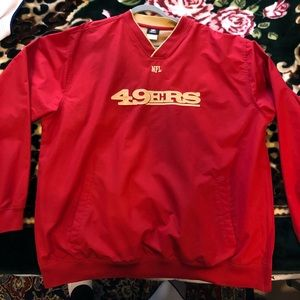 Authentic NFL San Francisco 49ers pullover sweater